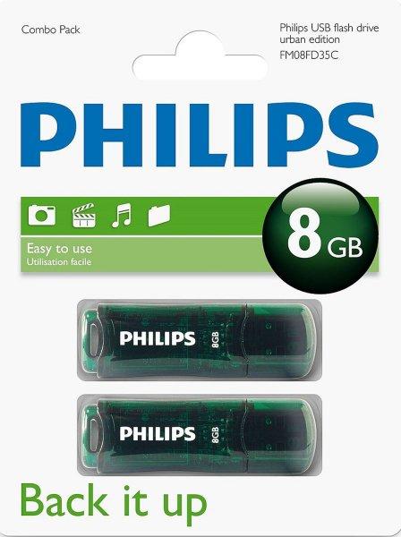 [Kaufland Sinzig] (lokal?) Philips Urban Combo Pack 2x 8GB USB 2.0