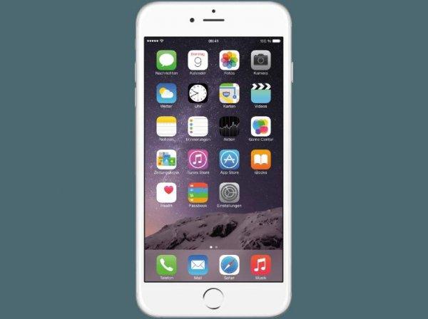 [Mediamarkt Österreich]Apple iPhone 6 Plus Smartphone (5,5 Zoll (14 cm) Touch-Display, 64 GB Speicher, iOS 8) silber für 660,99€ inc.Versand nach Deutschland