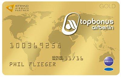 [airberlin topbonus Gold / OneWorld Sapphire] für 50 Euro und 1000 Euro Bargeldeinsatz und viel Zeit (auch Platinum möglich)