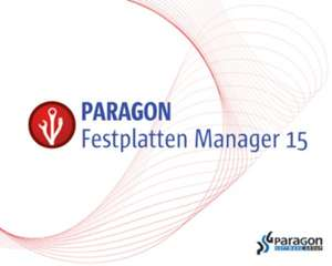 Gratis statt 54€ Paragon  Hard Disk Manager 15 - Backup & Recovery Compact