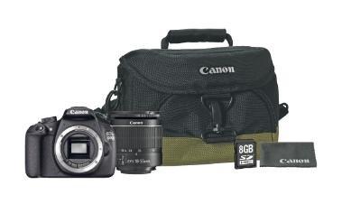 Saturn - Canon EOS 1200D + Objektiv 18-55mm f/3.5-5.6 (18 Megapixel, CMOS)