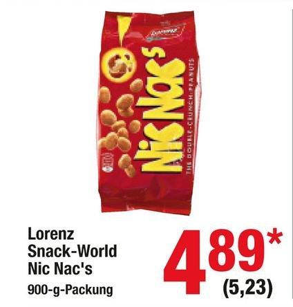 900g Nic Nac's für 5,23 € (brutto, 4,89 € netto) @ Metro (21.01. - 03.02.)