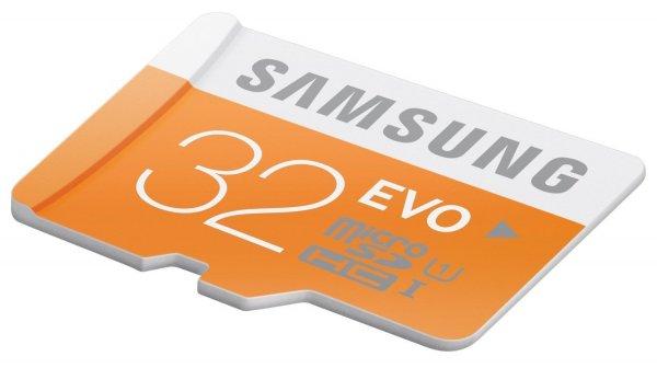 [MediaMarkt bundesweit] Samsung micro SDHC 32GB Evo Class 10 Speicherkarte für 8€