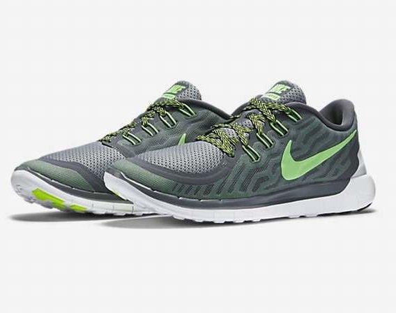 [Footlocker] Nike Free 5.0 - Grau/Weiss/Grün für 66,99 € statt 119,95 € (Größe 41-46)