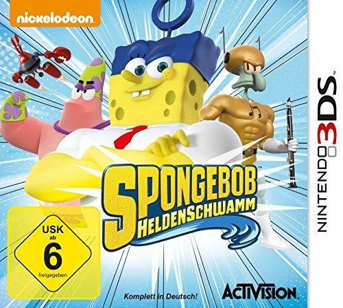 """Nintendo 2DS/3DS - Spongebob """"Heldenschwamm"""" ab €4,91 [@Saturn.de]"""