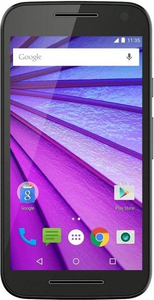Motorola Moto G 3. Generation Smartphone (12,7 cm (5 Zoll) HD Display, 4G, 16 GB Speicher, Android 5.1.1) schwarz  u. weiß inkl.  VSK für 184, 68 € > amazon.fr > Blitzangebot