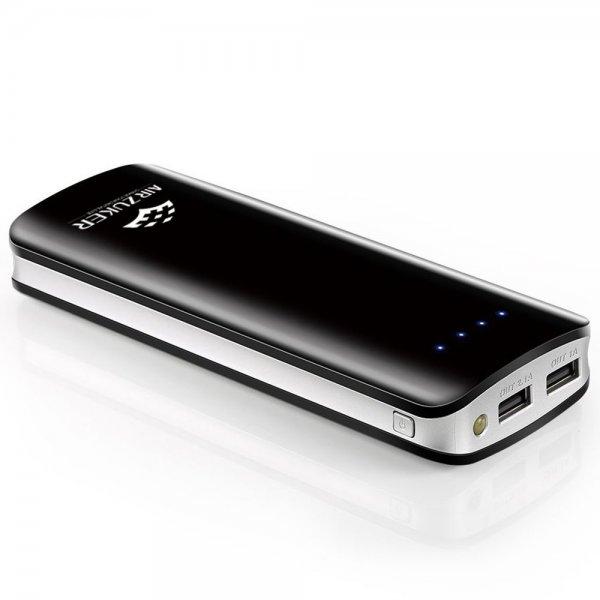 @Amazon: Air Zuker® 18000mAh Hoch Kapazität Externer Akku Ladegerät Dual USB 5V/3.1A Power Bank mit LED-Taschenlampe ab 15,99 Euro mit Prime