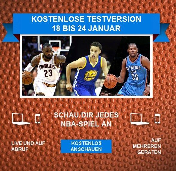 NBA League Pass [Testwoche vom 18. - 24. Januar]