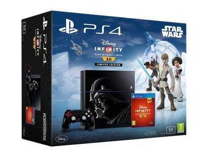 Playstation 4 Darth Vader-Stil 1TB + Disney Infinity 3.0 für 399€ bei Coolshop.de