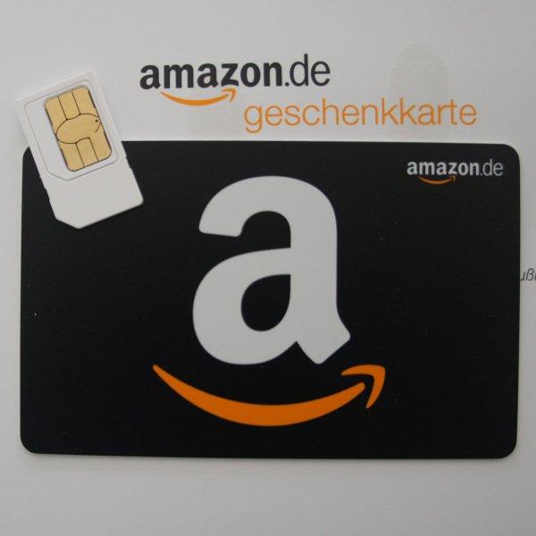 16 Euro Amazon Gutschein mit 1.95€ Simkarte von freenetMobile