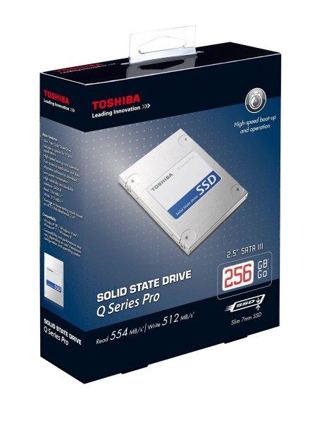 """Toshiba Q Series Pro 256GB (2,5"""") SSD für 79€ bei Media Markt"""