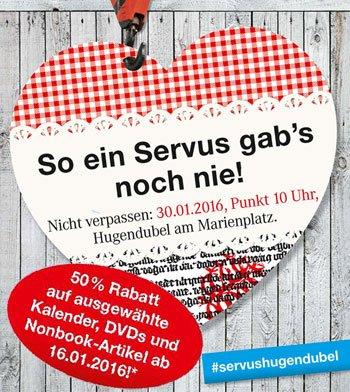 [lokal] 50% auf alle Nonbooks bei Hugendubel am Marienplatz München