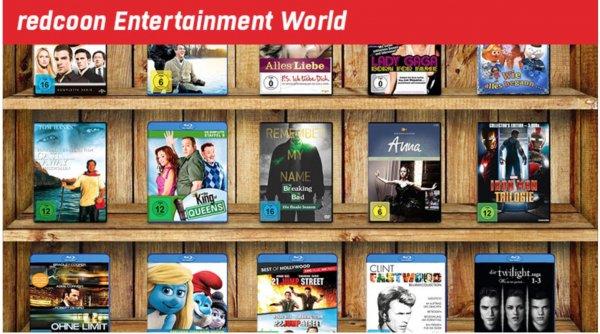 [Redcoon] Sammeldeal über angebotene Blurays und DVDs
