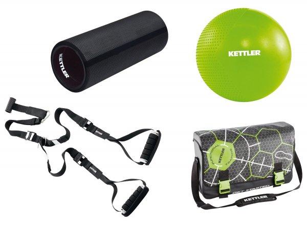 [AMAZON] Kettler Accessoires Functional Training Set Athlete, Schwarz /Grün, 07381-400