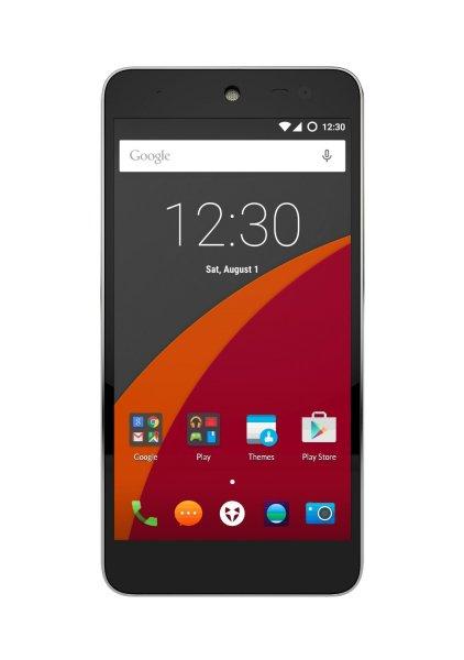 Wileyfox Swift 4G Dual-SIM Smartphone (5,0 Zoll (12,70 cm) Display, 16 GB Speicher, Cyanogen OS 12.1) Sandstein-Schwarz für 142,57 € @ Amazon.de