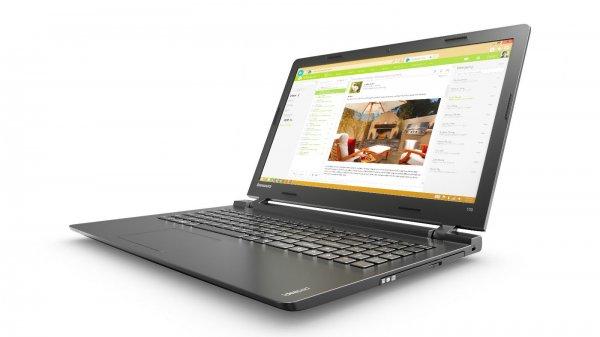 Lenovo IdeaPad 100-15IBY, Pentium N3540 bis 2.66GHz, 4GB RAM, 500GB HDD, 15,6 Zoll Display, Windows 8.1 für 239,90€ bei Alternate/ebay