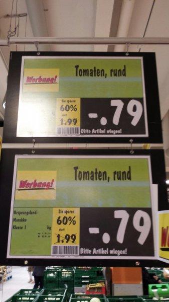[Kaufland-Oberhausen] Tomaten für nur 0,79€/kg