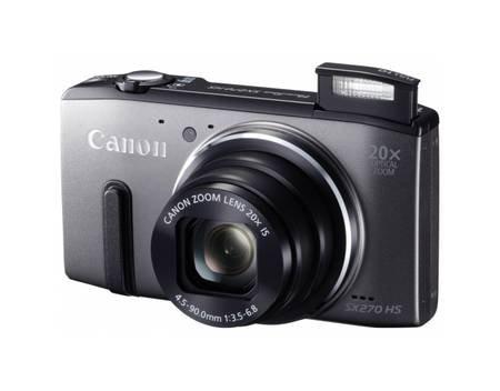 Canon PowerShot SX 270 HS, Kompaktkamera, 12,1 Megapixel CMOS-Sensor, 20fach optischem Zoom, Full-HD, grau für 164,95€ (mit Newslettergutschein) @ Allyouneed