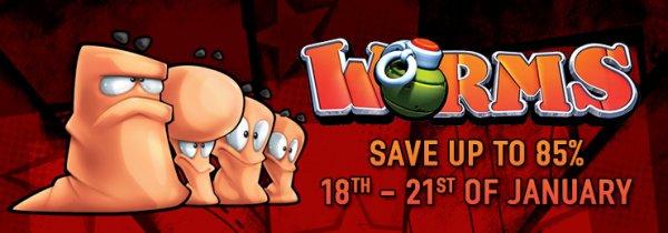 [Steam] Worms Deals - Diverse Spiele und DLC's ab 0,45€ @ Gamersgate
