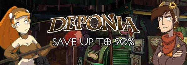 [Steam] Deponia Deals - Diverse Spiele und DLC's ab 1,84€ @ Gamersgate