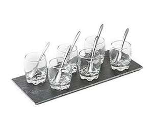 Steel Function Dessert-Set 13-teilig für 11,89€ bei Brands4friends