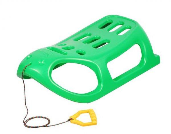 [Allyouneed] HUDORA Wintersport Bob / Schlitten mit Zugseil aus Kunststoff in Grün für 16,95 Euro inkl. Versand