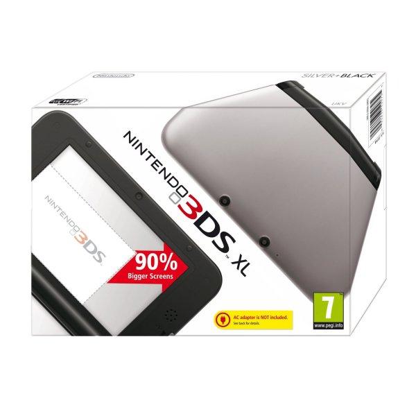 +Update III +[amazon.co.uk] Nintendo 3DS XL silber-schwarz für 96,47€ inkl. Versand ( oder mit Mario and Luigi: Dream Team Brosfür 110,05€ )