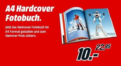 [MediaMarkt] Fotobuch A4 - Hardcover 24 Seiten 10 Euro per Abholung