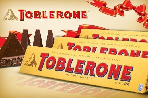 (Action)Toblerone Milchschokolade 100 Gramm für 0,69€