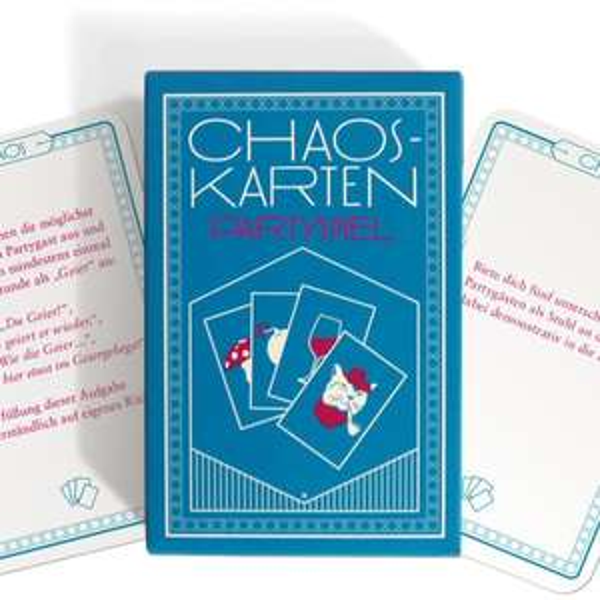 Chaoskarten Partyspiel zum Selberdrucken