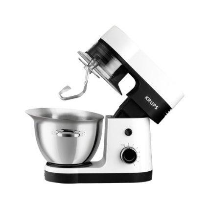 [Amazon] Krups KA3031 Küchenmaschine Perfect Mix 9000 (900 Watt, 4 L Volumen, 6 Geschwindigkeitsstufen) weiß / grau / edelstahl gebürstet [Energieklasse A] für 149€