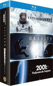 Amazon.fr Gravity + 2001 Bluray inkl. Deutscher Sprache, Interstellar OT