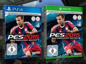 [Saturn.de] Pro Evolution Soccer 2015 (PS4 & Xbox One) für 8,99€