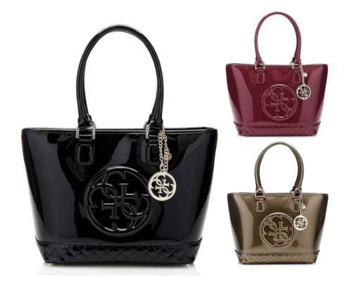 Guess Handtasche Amy Shine 3 Farben mit ~44% Rabatt auf Bestpreis
