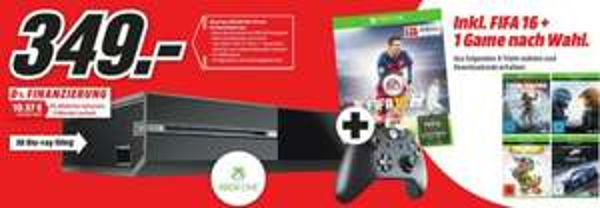 Xbox One 500GB + Fifa 16 + ein weiteres Spiel