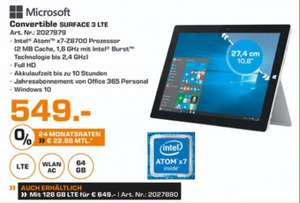 [Lokal Hamburg Saturn] Microsoft Surface 3 LTE 64GB