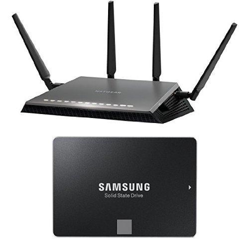 Netgear Nighthawk X4S AC Router + Samsung 850 Evo 250GB für 318,26€ bei Amazon.it
