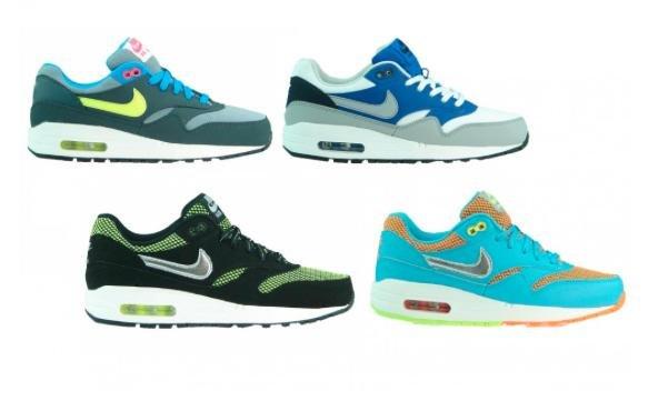 [Outlet46] Damen Nike Air Max 1 GS in 4 Farben (Gr. 35-38,5) für 39,99€ inkl. Versand statt 50€