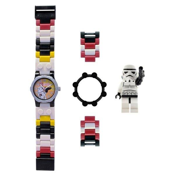 """LEGO™ - Star Wars Kinderuhr """"Stormtrooper"""" (inkl. Minifigur) für €12,31 [@Zavvi.com]"""