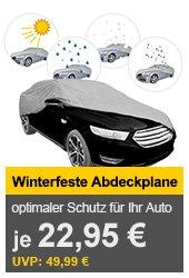 Winterfeste Abdeckplane für verschiedene Autotypen für je 22,95€ (statt 48€) @allyouneed