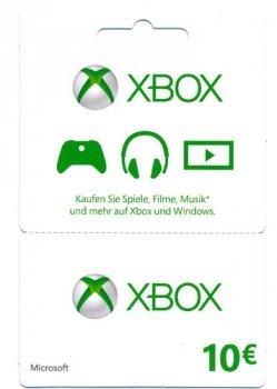 10€ Xbox Guthaben für 5,33€ (Amazon Marketplace)