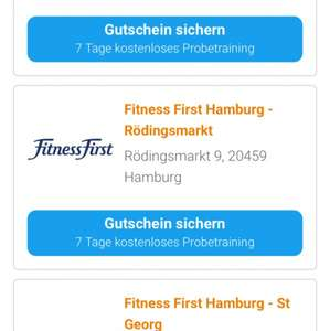 [egym] Fitness First 7 Tage kostenloses Probetraining