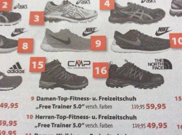 [Lokal Osnabrück] Nike Free Trainer 5.0 Herren/Damen für 49,90€ / 59,90€