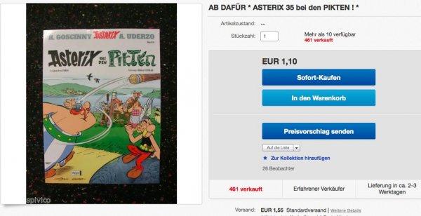 Asterix bei den Pikten - 2,65 Eur (Softcover) - inkl. Versand