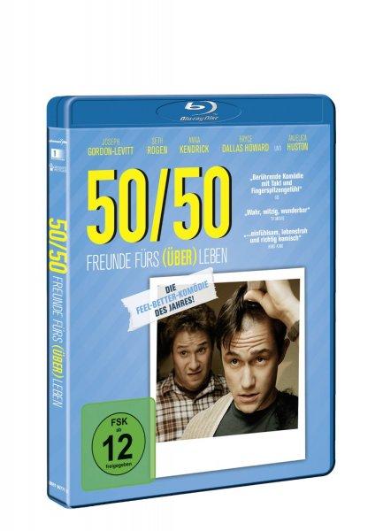 [Amazon Prime] 50/50 - Freunde fürs (Über)Leben (Blu-ray) für 4,99 EUR