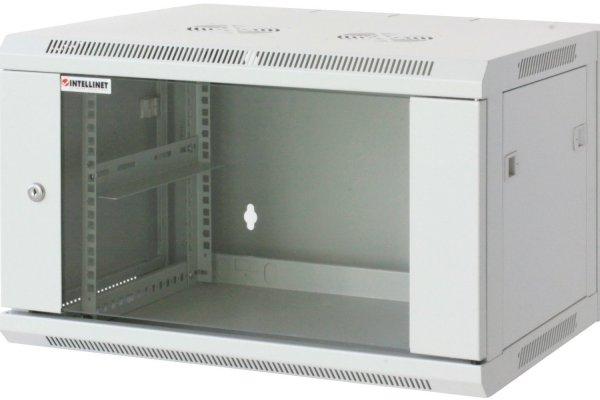 [Amazon] Intellinet Wandschrank (= Servergehäuse) 48,3cm, 19 Zoll 6HE, grau RAL 7035 für 15,66 € / Geizhals ab 88,82 €