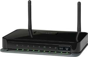 Netgear DGN2200MB-100GRS Wireless-N 300 ADSL2+ ModemRouter Annex B @Amazon WHD
