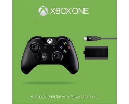 [SMDV] Microsoft Xbox One Wireless Controller + Play & Charge Kit (2015) (schwarz) für 52,39€ Versandkostenfrei