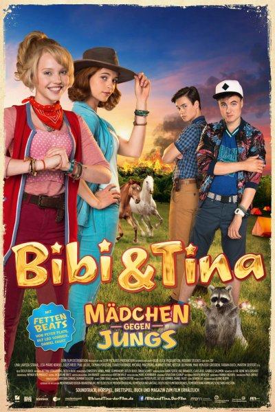 """Bibi & Tina 3 """"Mädchen gegen Jungs"""" Poster und ein Überraschungsposter für 3,99 + Versand"""