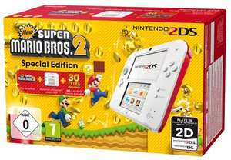 Nintendo 2DS New Super Mario Bros. 2 Special Edition für 82,95€ bei Bücher.de